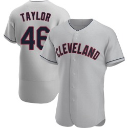 Beau Taylor Cleveland Indians Men's Authentic Road Jersey - Gray