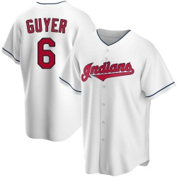 Brandon Guyer Cleveland Indians Men's Replica Home Jersey - White