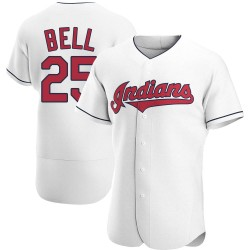 Buddy Bell Cleveland Indians Men's Authentic Home Jersey - White