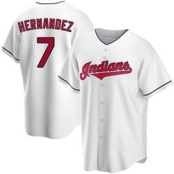 Cesar Hernandez Cleveland Indians Men's Replica Home Jersey - White