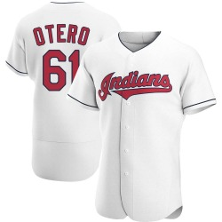 Dan Otero Cleveland Indians Men's Authentic Home Jersey - White