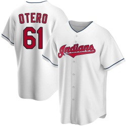 Dan Otero Cleveland Indians Youth Replica Home Jersey - White