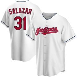 Danny Salazar Cleveland Indians Men's Replica Home Jersey - White