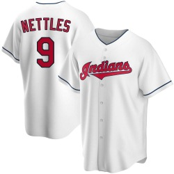 Graig Nettles Cleveland Indians Men's Replica Home Jersey - White