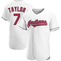 Jake Taylor Cleveland Indians Men's Authentic Home Jersey - White