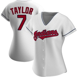 Jake Taylor Cleveland Indians Women's Replica Home Jersey - White