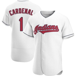 Jose Cardenal Cleveland Indians Men's Authentic Home Jersey - White