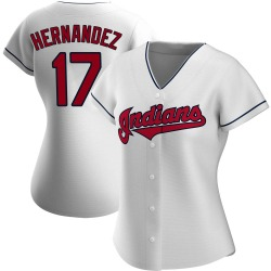 Keith Hernandez Cleveland Indians Women's Authentic Home Jersey - White