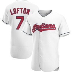 Kenny Lofton Cleveland Indians Men's Authentic Home Jersey - White