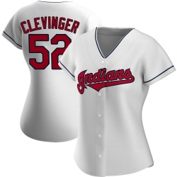 Mike Clevinger Cleveland Indians Women's Replica Home Jersey - White