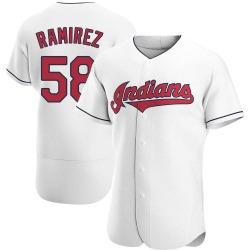 Neil Ramirez Cleveland Indians Men's Authentic Home Jersey - White