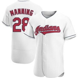 Rick Manning Cleveland Indians Men's Authentic Home Jersey - White