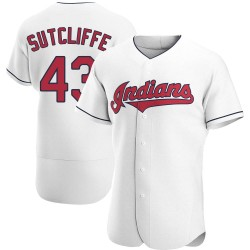 Rick Sutcliffe Cleveland Indians Men's Authentic Home Jersey - White