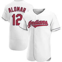 Roberto Alomar Cleveland Indians Men's Authentic Home Jersey - White
