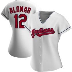 Roberto Alomar Cleveland Indians Women's Replica Home Jersey - White