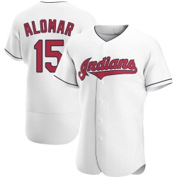 Sandy Alomar Cleveland Indians Men's Authentic Home Jersey - White