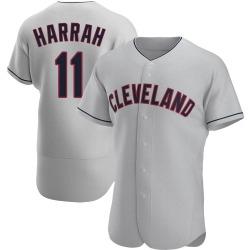 Toby Harrah Cleveland Indians Men's Authentic Road Jersey - Gray