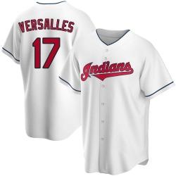 Zoilo Versalles Cleveland Indians Men's Replica Home Jersey - White