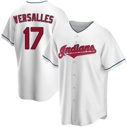 Zoilo Versalles Cleveland Indians Youth Replica Home Jersey - White
